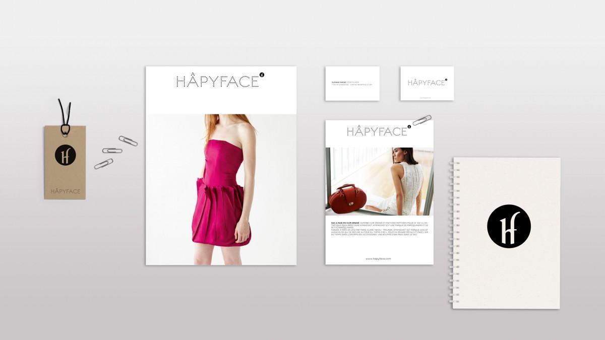 hâpyface direction artistique identité de marque Franck Magné