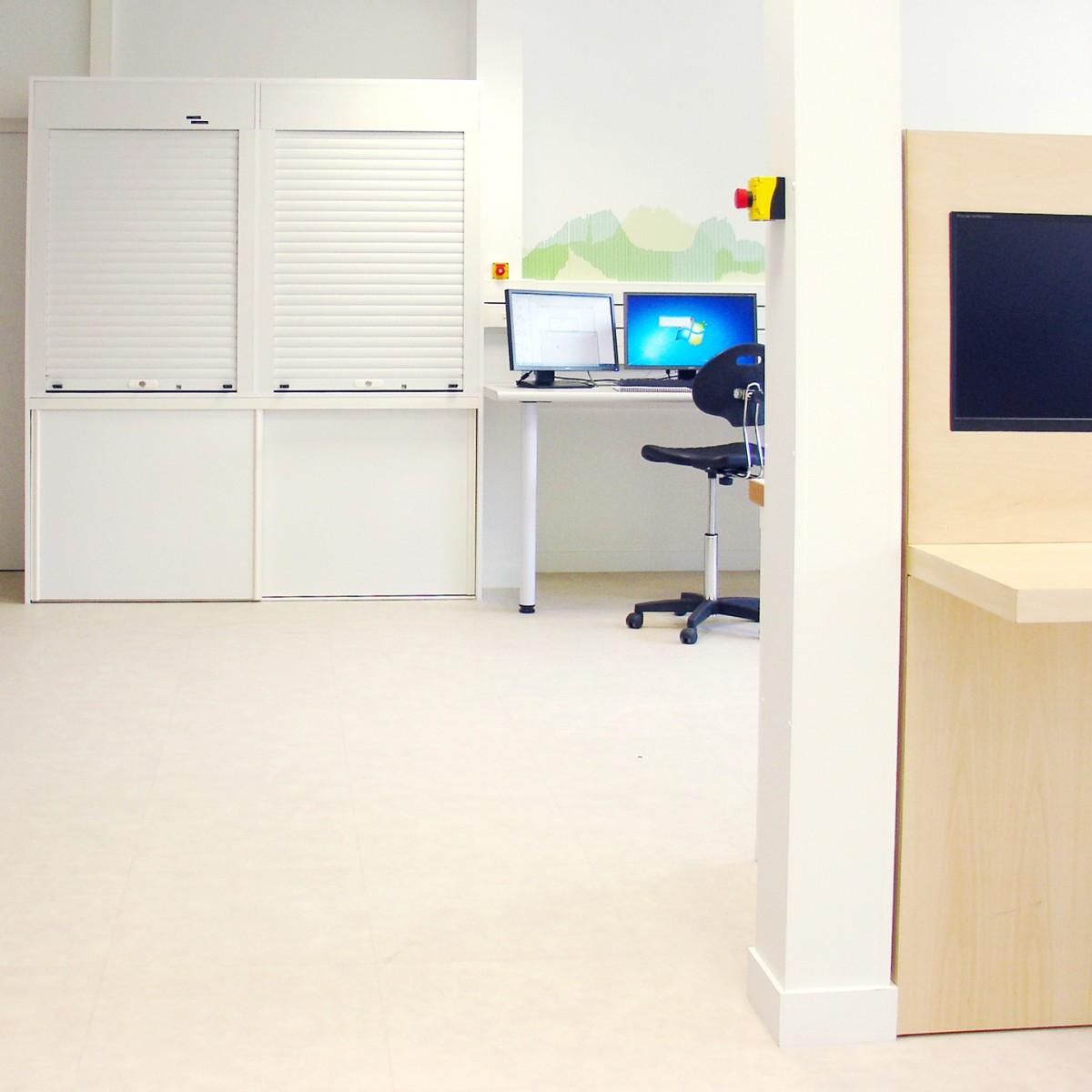 architecture d'intérieur laboratoire design franck Magné