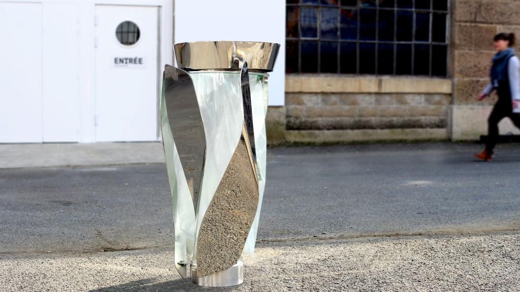lif. corbeille publique.. Design Franck Magné pour Objets Publics