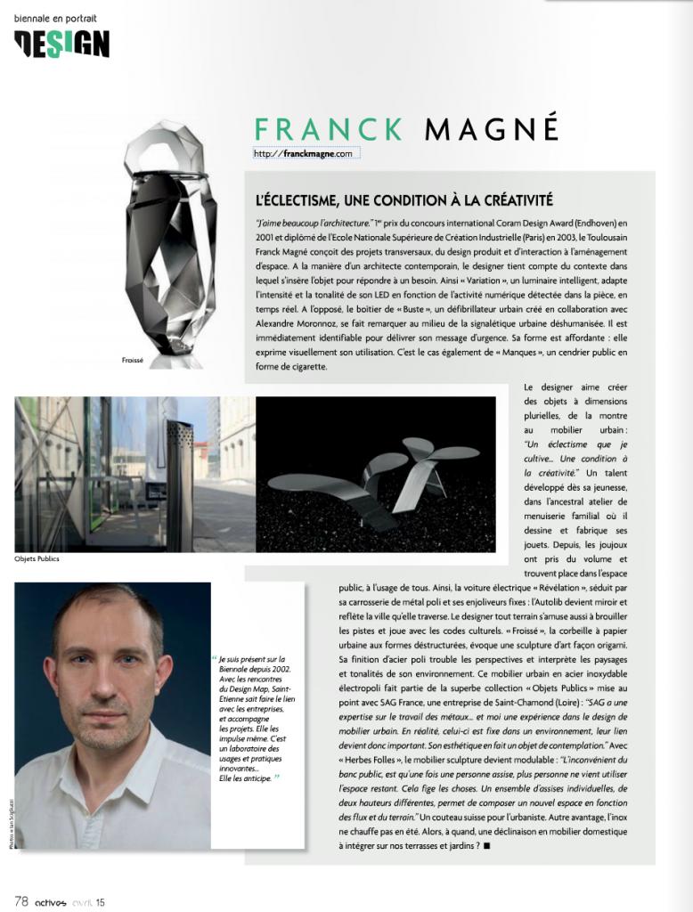 portrait Franck Magné