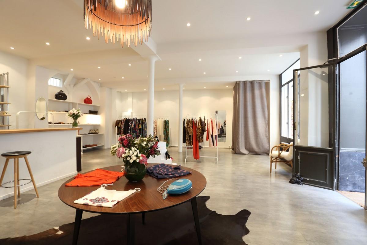 design d'espace retail franck magné pour hâpyface