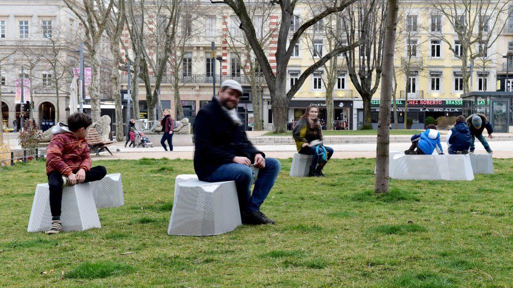 objets publics bancs banc assises rocs design franck magné saint etienne