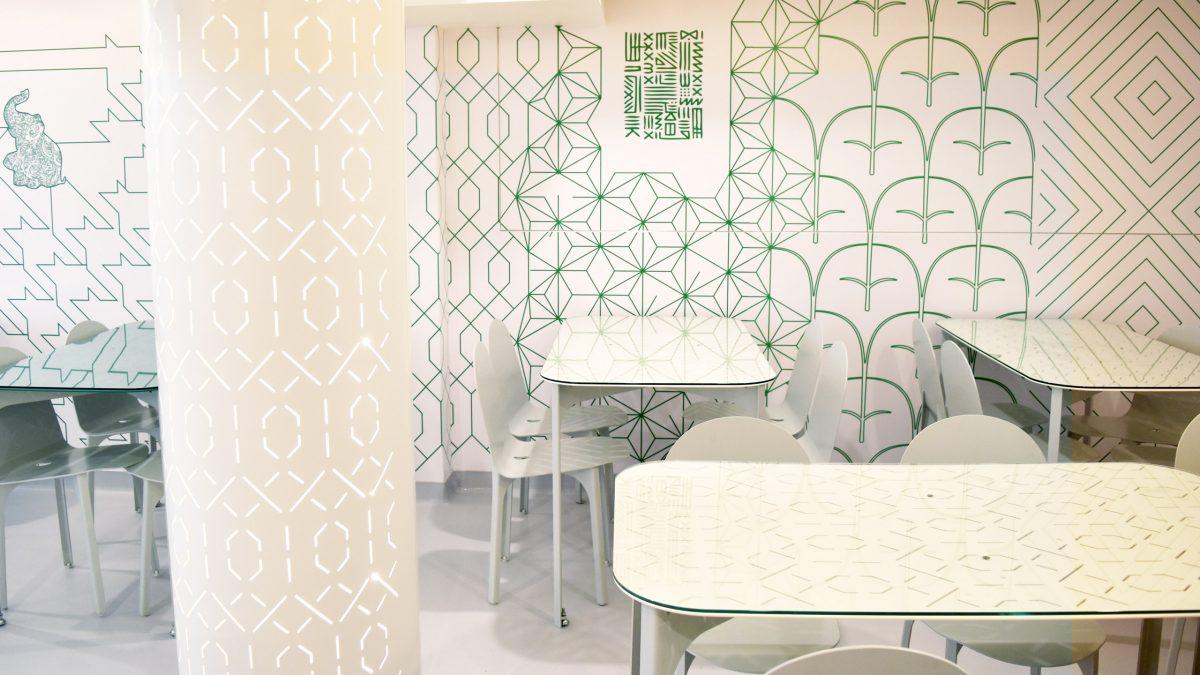 design franck magné restaurant soleils et papilles